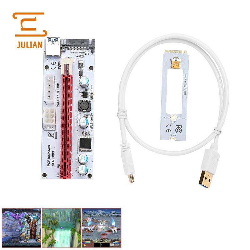 Computer Cables & Connectors Adaptable Pci-e X4 To Dual Usb Type-c Pci-e X4 Expression Card