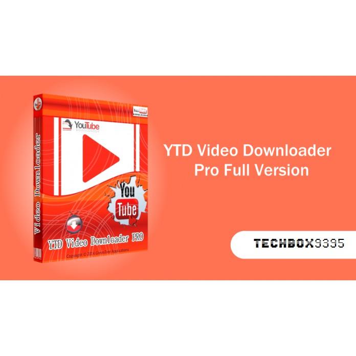 YTD Video Downloader PRO 2019 Full Version