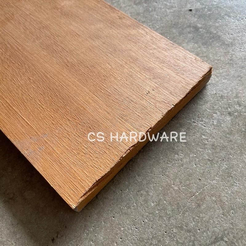 3/4'' x 6'' Solid Kayu Meranti Jerit Wood Kayu - Ketam