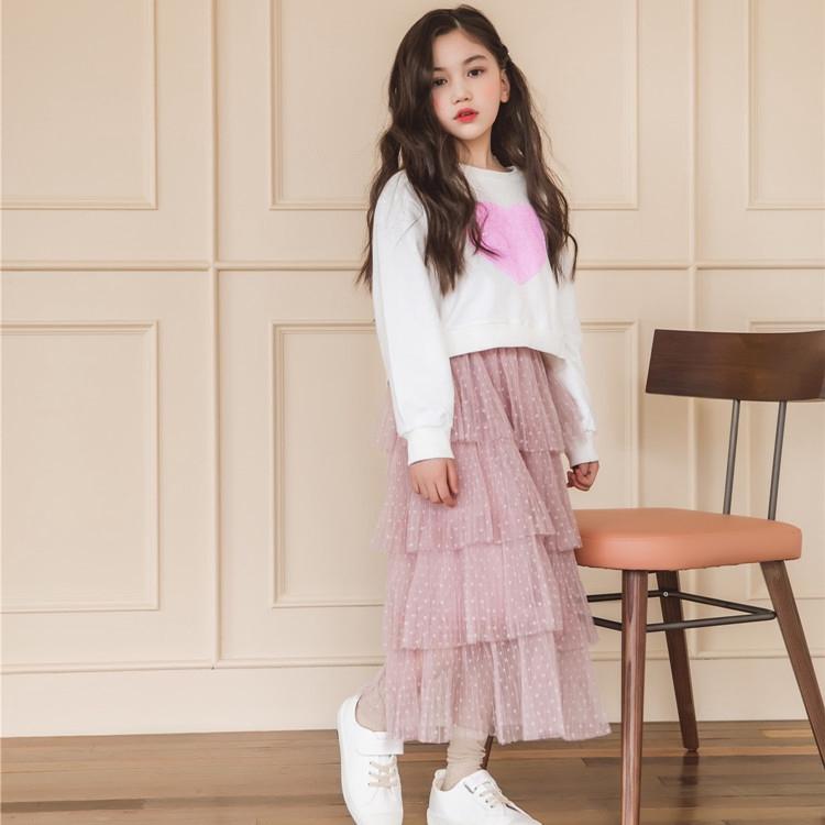 Girls Skirt Set Fashion Spring Kids Two Piece Clothes Sets White  Sweatshirts + Tutu Skirts Autumn Outfits for Teenage 6 8 12 14Y | Shopee  Malaysia