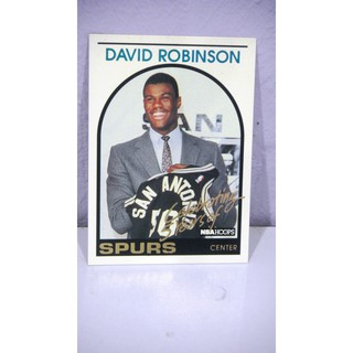 93 94 Hoops Dr1 David Robinson Commemorative 1989 Rookie