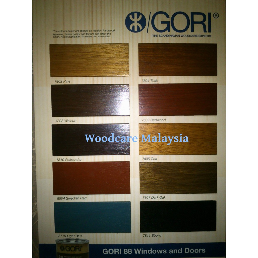 Gori 44 5l Wood Primer For Facades Fascias Pergolas Sealer