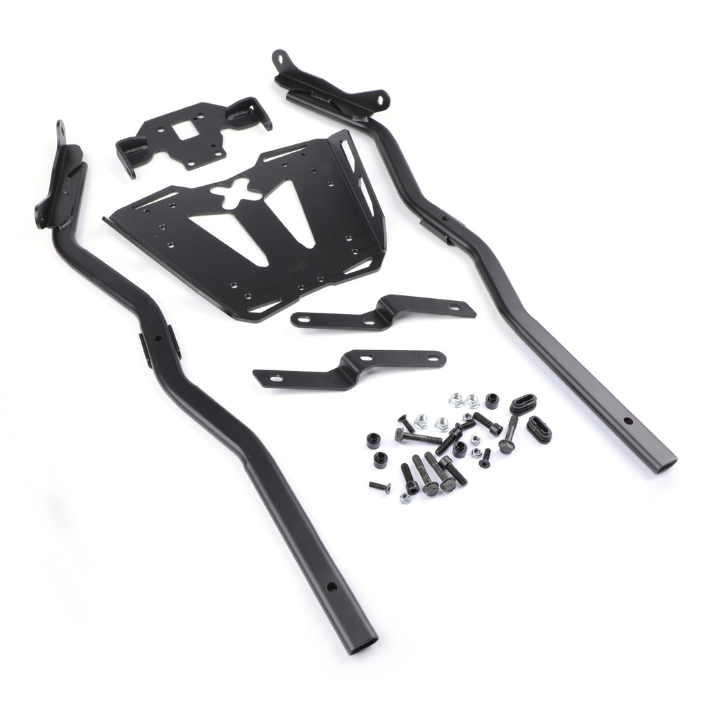 Areyourshop Black Luggage Rack Rear Carrier Plate kit For MT-10 2016-2017