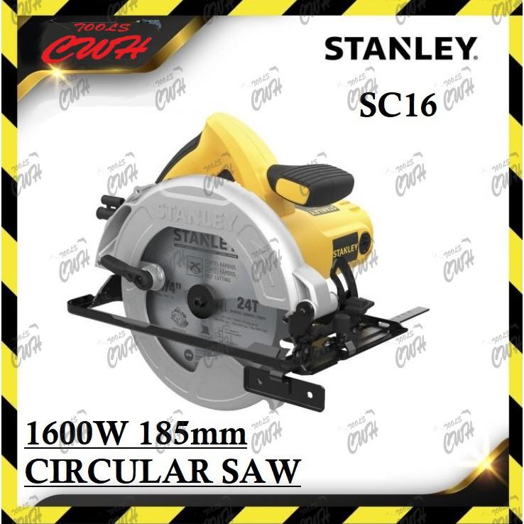 Stanley SC16 1600W 185mm Circular Saw WOOD CUTTER STEL311