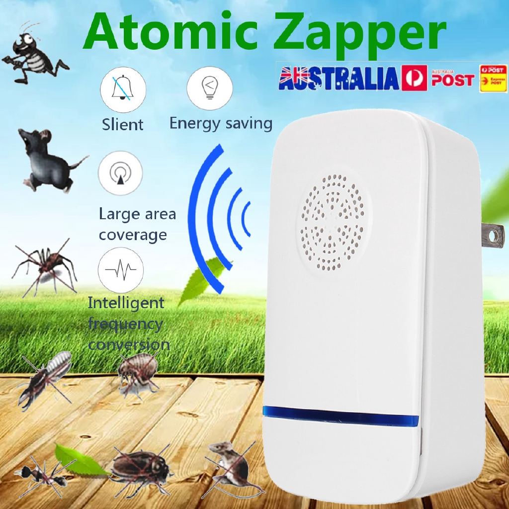 Lights & Lighting Frequency Conversion Ultrasonic Multifunction Insect Mosquito Repellent Pest Repeller Control Fly Insect Bug Kill Zapper Killer Rapid Heat Dissipation