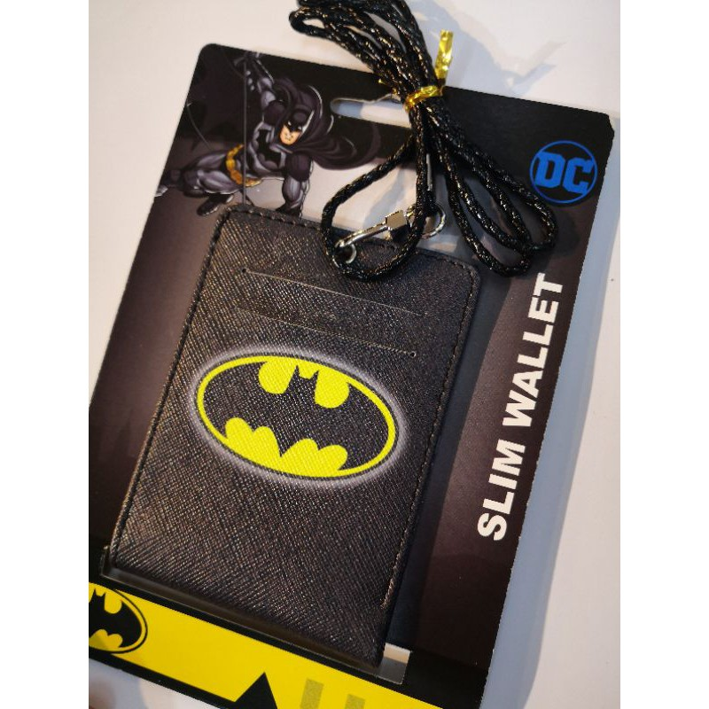 DC SLIM WALLET Original Superman Wallet Batman Wallet