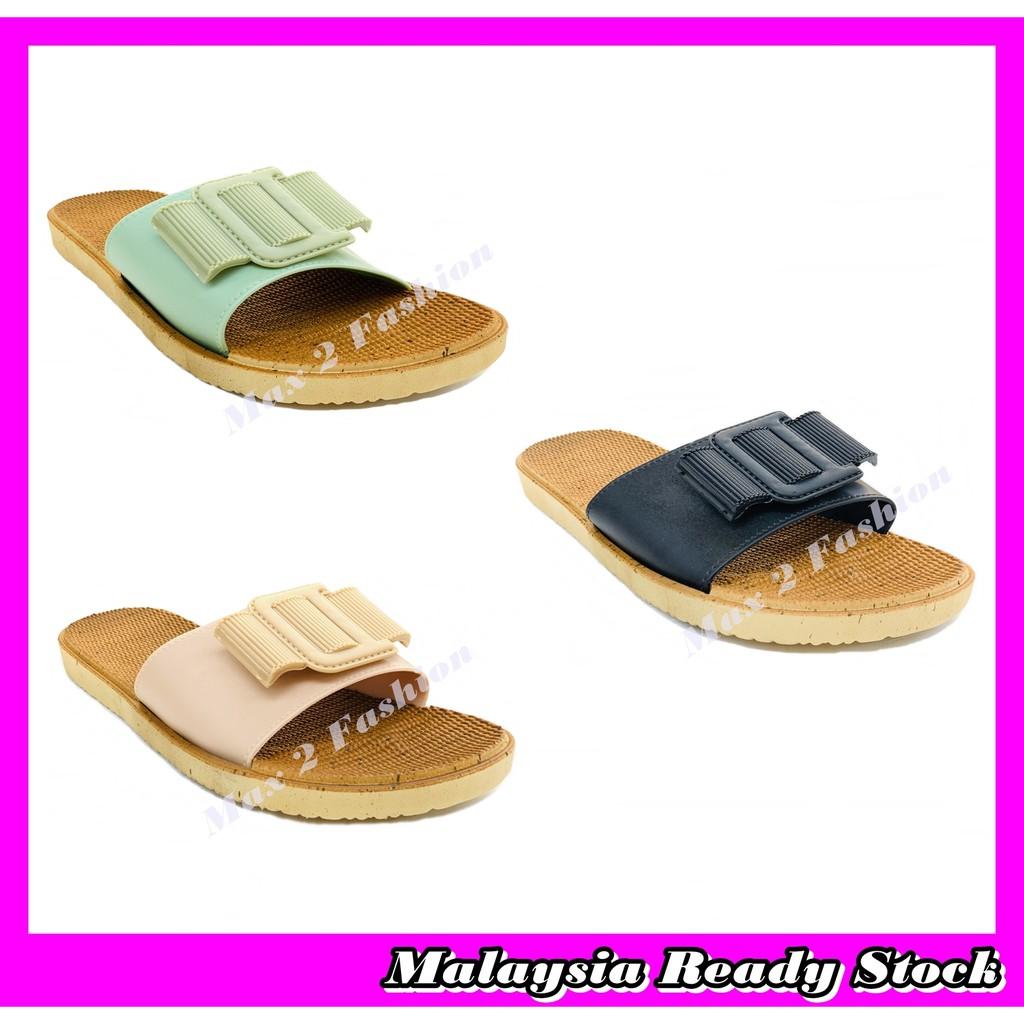 *C&T* Ready Stock LM3108-16F Ladies Korean Style Comfort & Casual Sandal Slipper