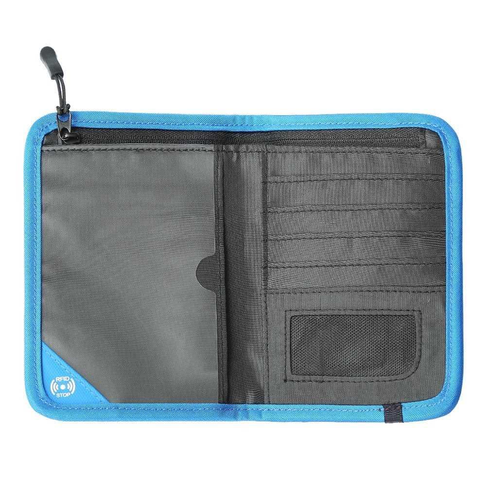 RFID SecureTravel Passport Wallet (Royal Blue)