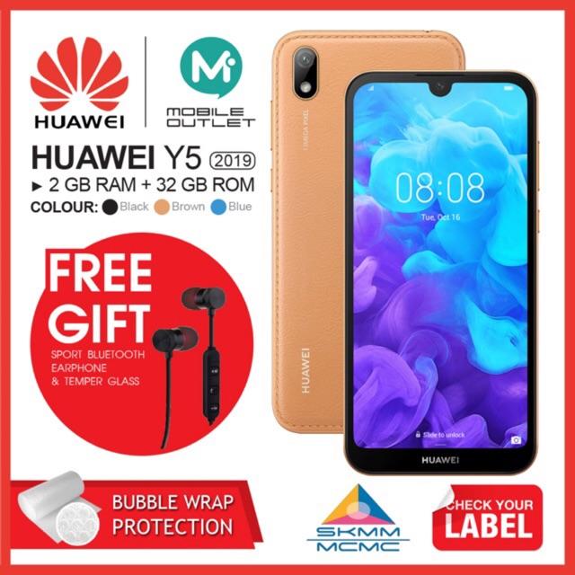Huawei Y5 2019 2GB/32GB (Original Msia Set)