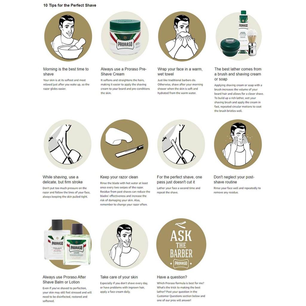 Proraso Shaving Cream, Refreshing and Toning 150ml | Shopee