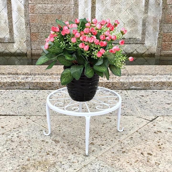 [ READY STOCK ]  Wrought Iron Classic Garden Storage Rack Stand Shelf Flower Pot Perabut Bunga Furniture Jualan Murah