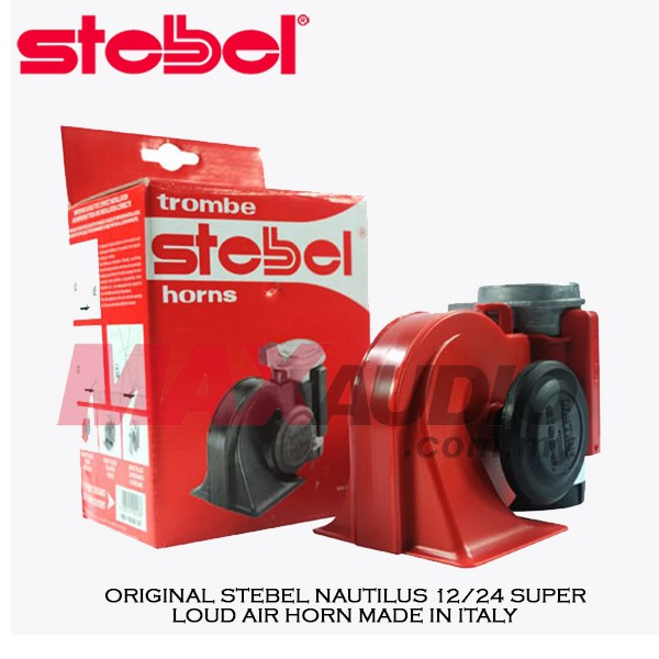 [FREE Gift] ORIGINAL STEBEL NAUTILUS SUPER LOUD TWIN AIR HORN MADE IN ITALY