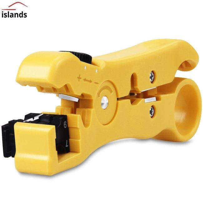 NEW Coaxial Cable Stripper Coax Crimper Tool Hand Tool for RG59//6//7//11 CAT 5