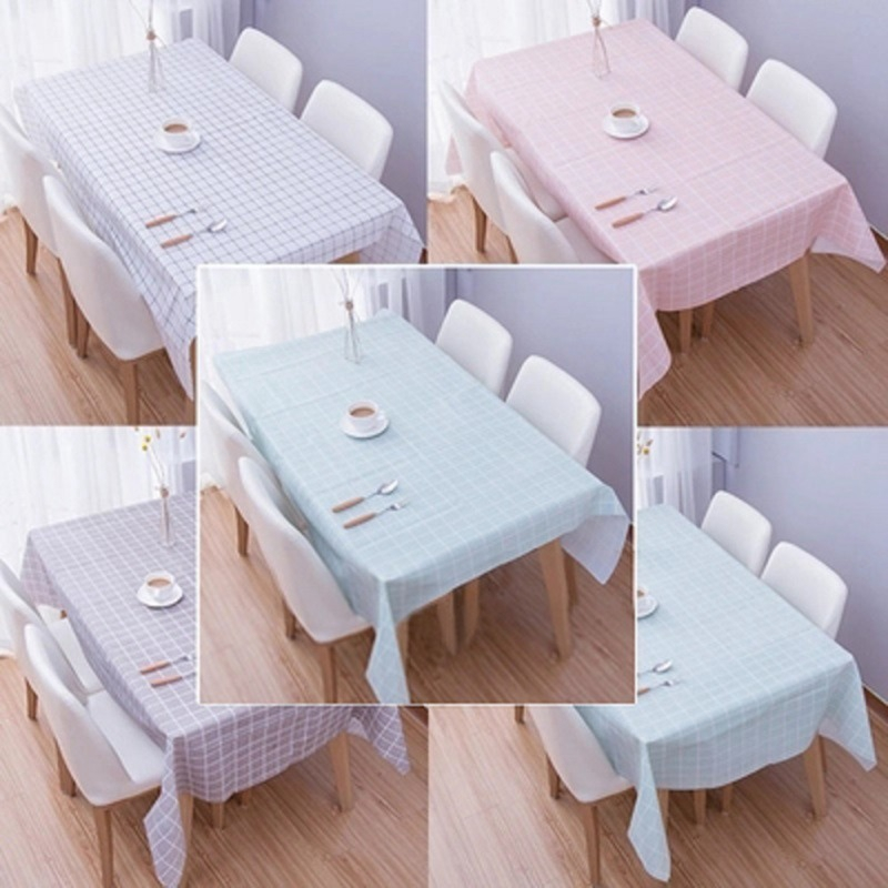 Kitchen Nordic Embroidery Cotton Decor Tablecloth Dinner Covers Placemats N7