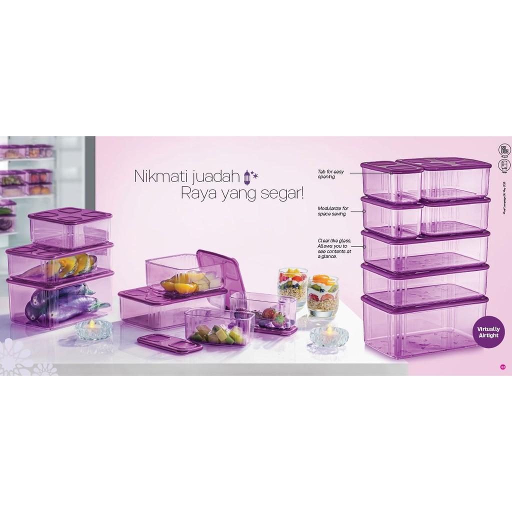 Tupperware Fresh N Clear Set (Purple)