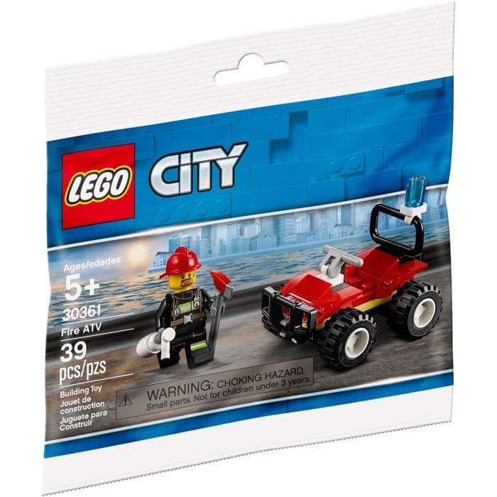 Lego 30361 CITY Fire ATV   Shopee Malaysia