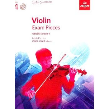 ABRSM Violin Exam Pieces 2020-2023 Grade 4 (With CD) / Violin Exam Book