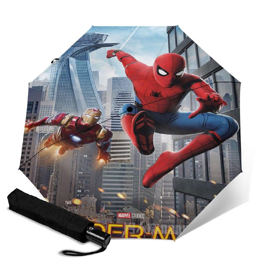 Marvel Spiderman Dome Shaped Transparent Umbrella