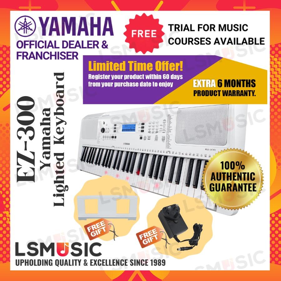 Yamaha Lighted Keyboard EZ-300 / EZ300 / EZ 300 Portable Keyboard
