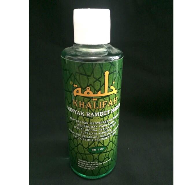 MINYAK RAMBUT HARUM KHALIFAH 100% ORIGINAL HQ