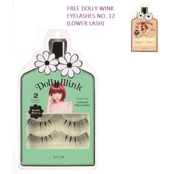 KOJI Dolly Wink Eyelash Series [with Mastery Free Gift]