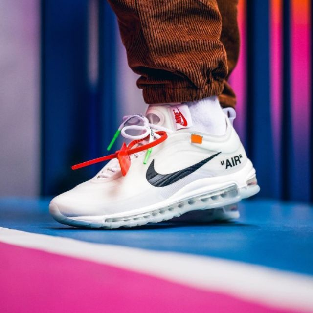 Original Rejected Nike Air Max 97 x Off White Sneakers Hypebeast Sneakers