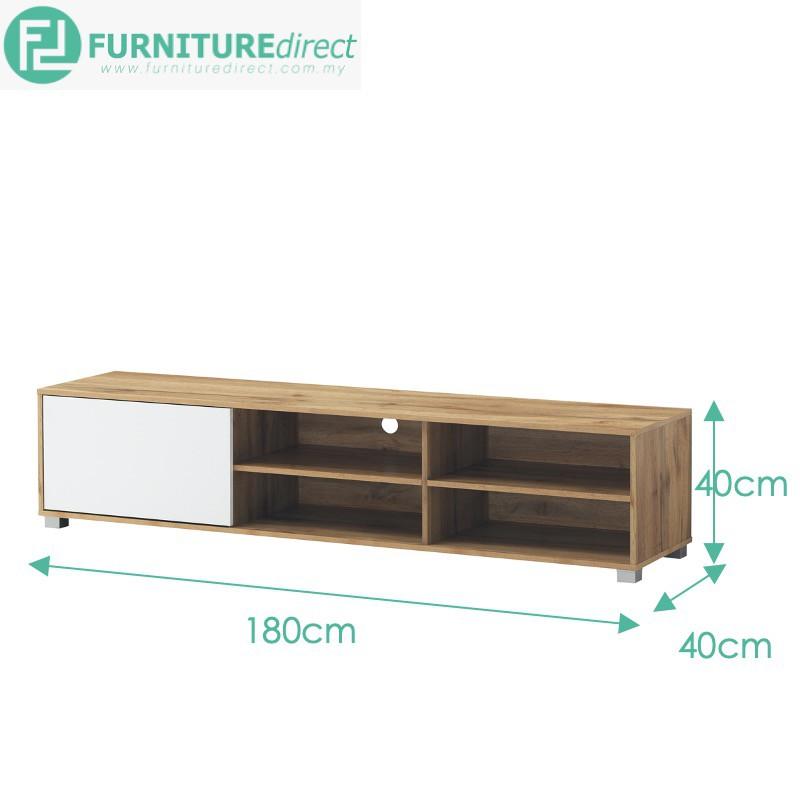 Furniture Direct STONOR series TV cabinet/ rak tv/ kabinet tv murah