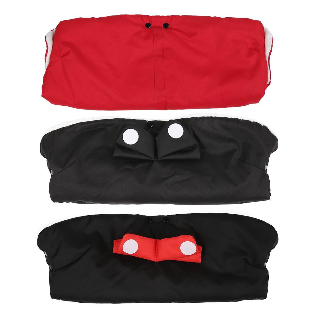 Winter Stroller Mittens Hand Cover Buggy Muff Glove Accessories Black //KT