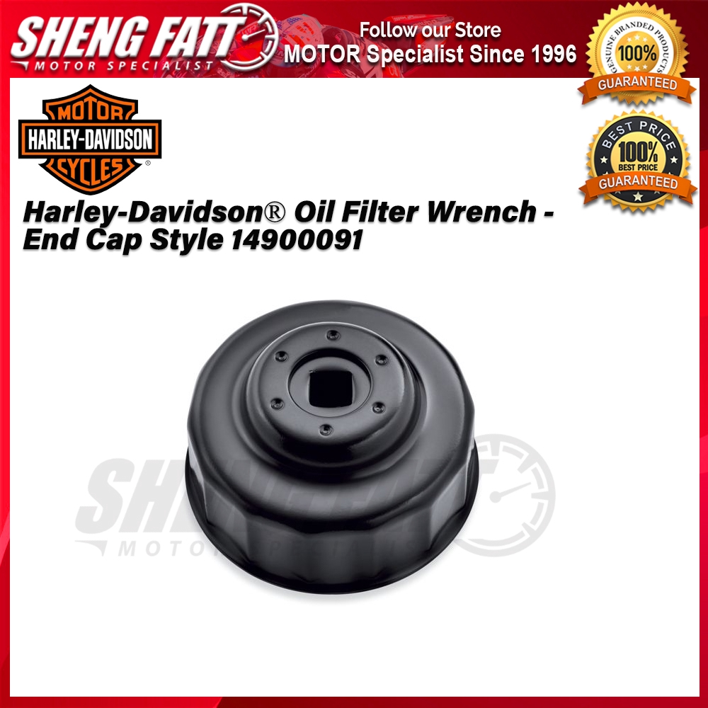 Harley-Davidson® Street™ Family Oil Filter Wrench - End Cap Style 14900091