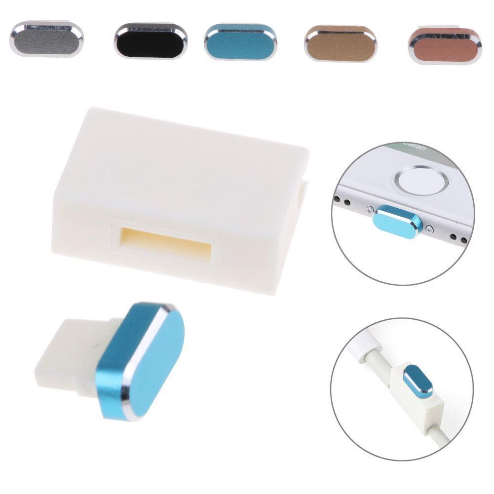 sale retailer 5fc53 af319 For Iphone 7/7 Plus Dust Cap Plug Cover Charger Port Dustproof Stopper  +Storages