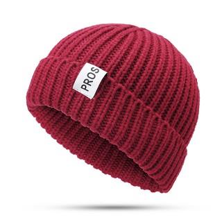 53c7fb629 KD Mens Womens Winter Warm Knit Brimless Beanie Cap Outdoor Foldable ...