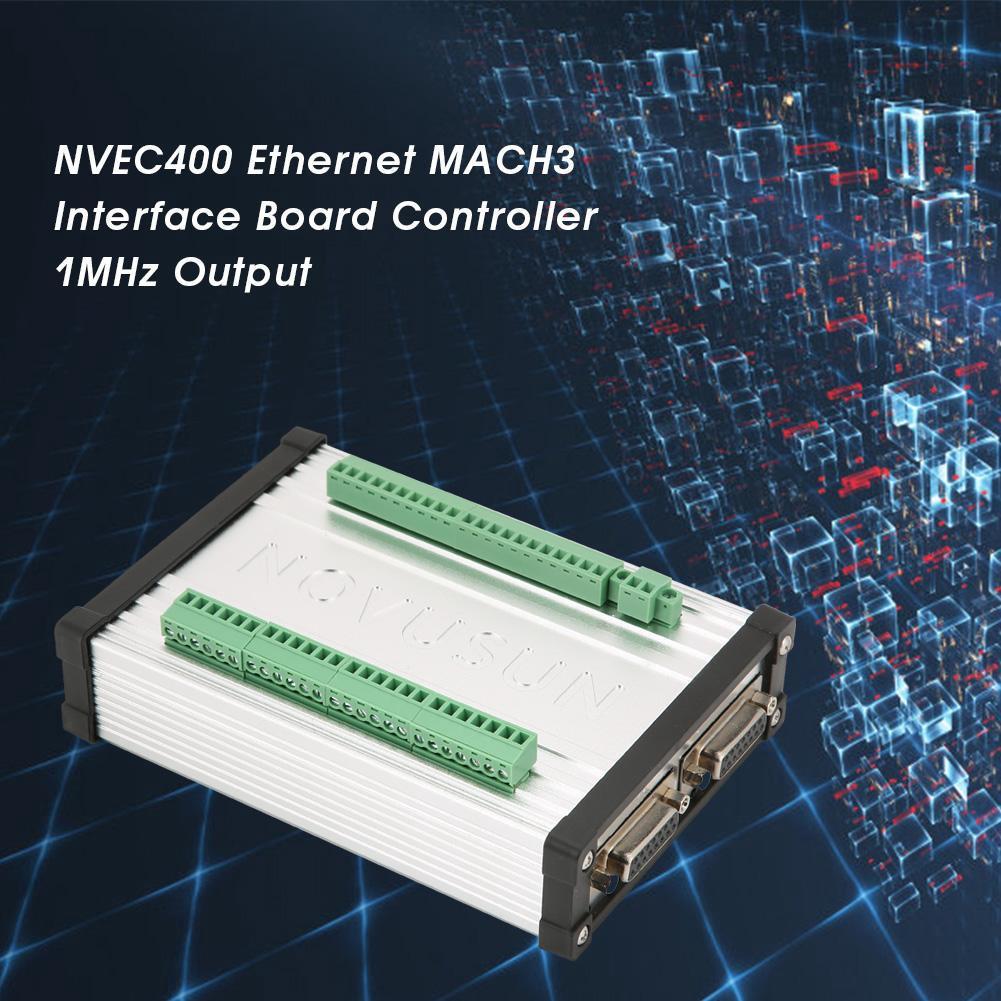 NVUM5-SP MACH3 Interface Board 5-Axis Controller CNC 100KHz