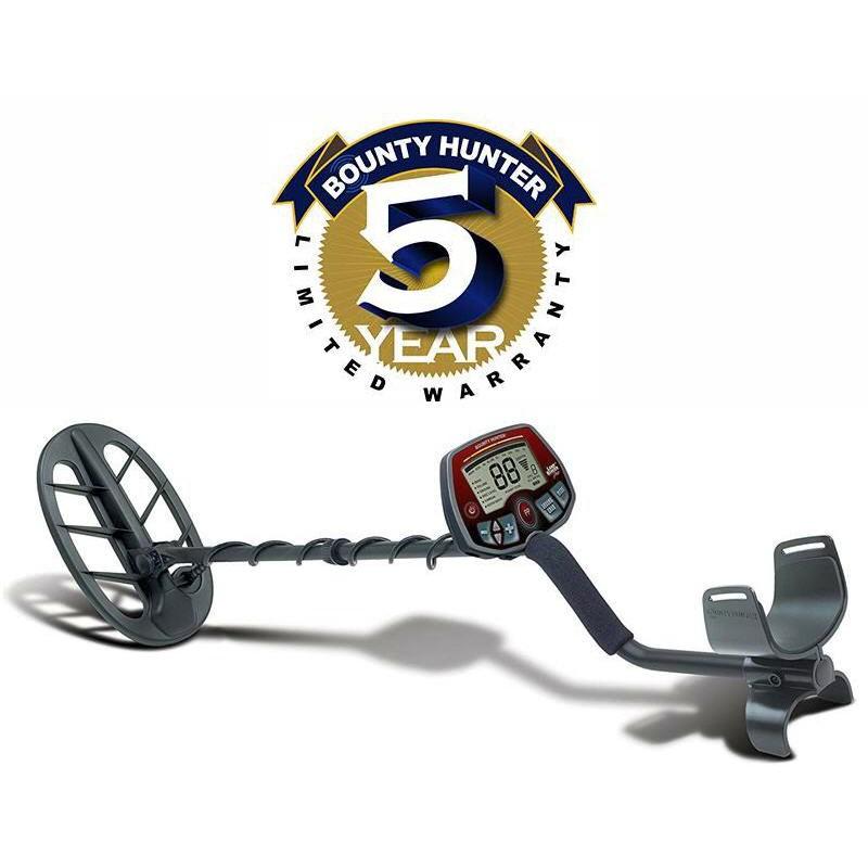 Bounty Hunter V-Break Variable Tone Breakpoint Land Ranger Pro Metal Detector
