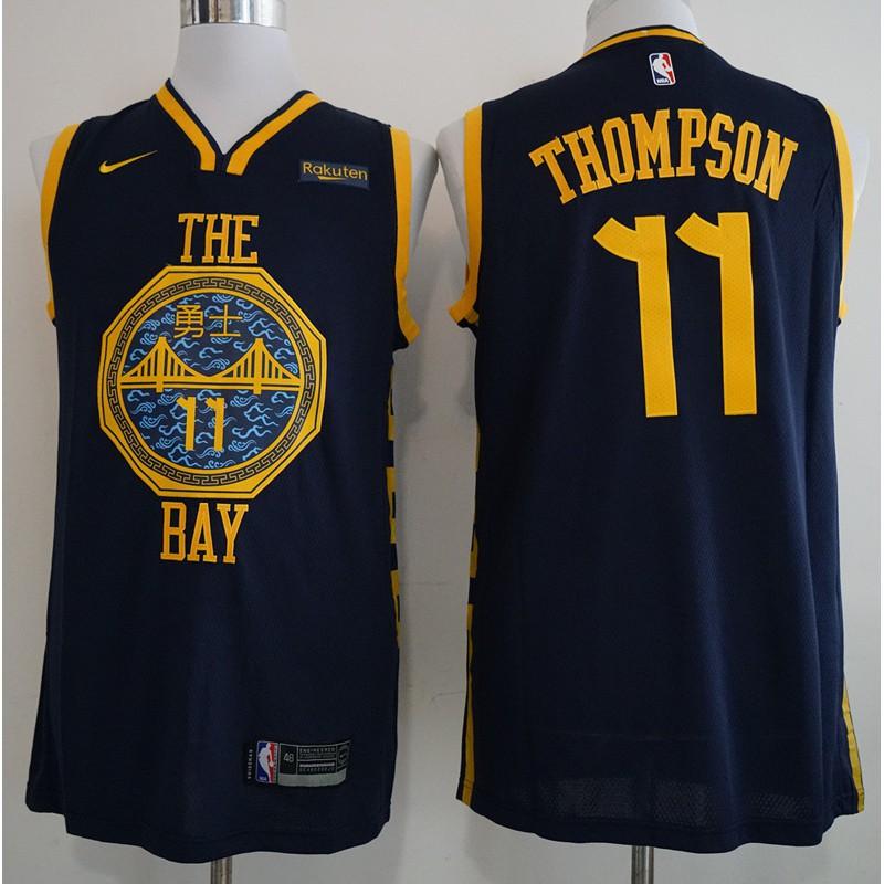 newest ea0b2 1c13f cod Golden State Warriors Klay Thompson NBA Jersey #11 Cod