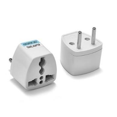 Universal US AU UK To European Euro Europe AC Power Adapter Travel Converter Adapter 2 Pins 250V