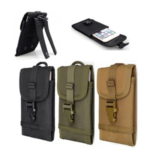 the latest 8d695 7a053 Molle Cell Phone Pouch Case Belt Bag For Smartphone 5.5 dy