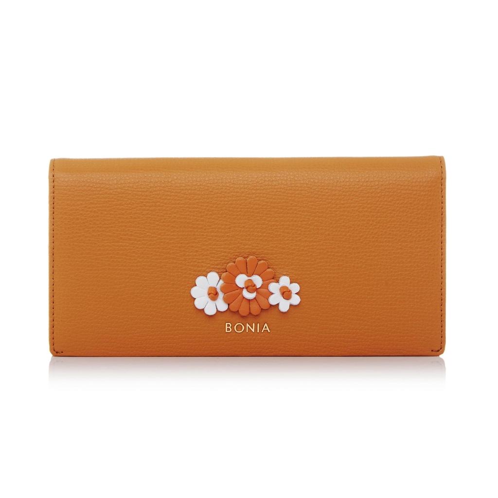 0552d48e2b Bonia Botanica Long Two Fold Wallet - Orange