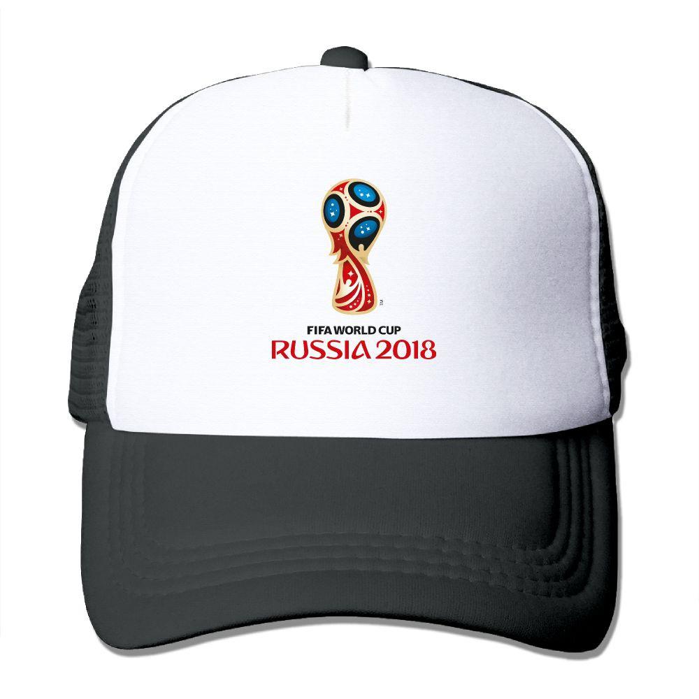 1a7b2eebb66 Russia 2018 FIFA World Cup Football Trucker Caps Mesh Hats Strap Unisex Cap