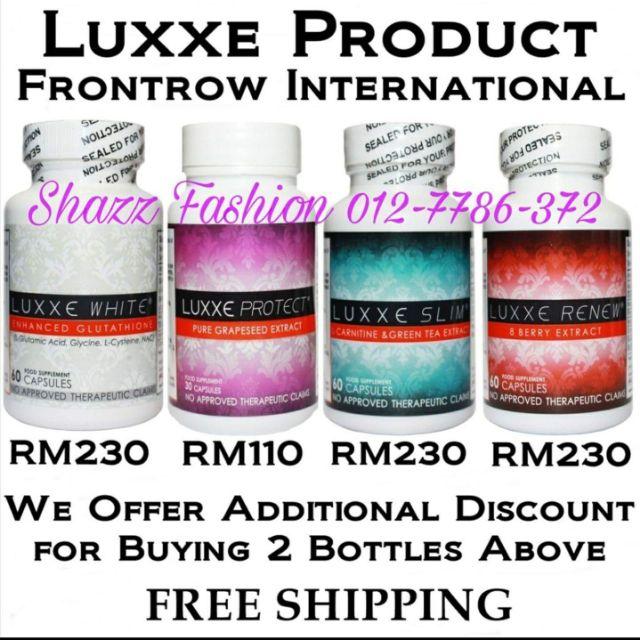 LUXXE PROTECT is an extremely powerful antioxidant that energizes