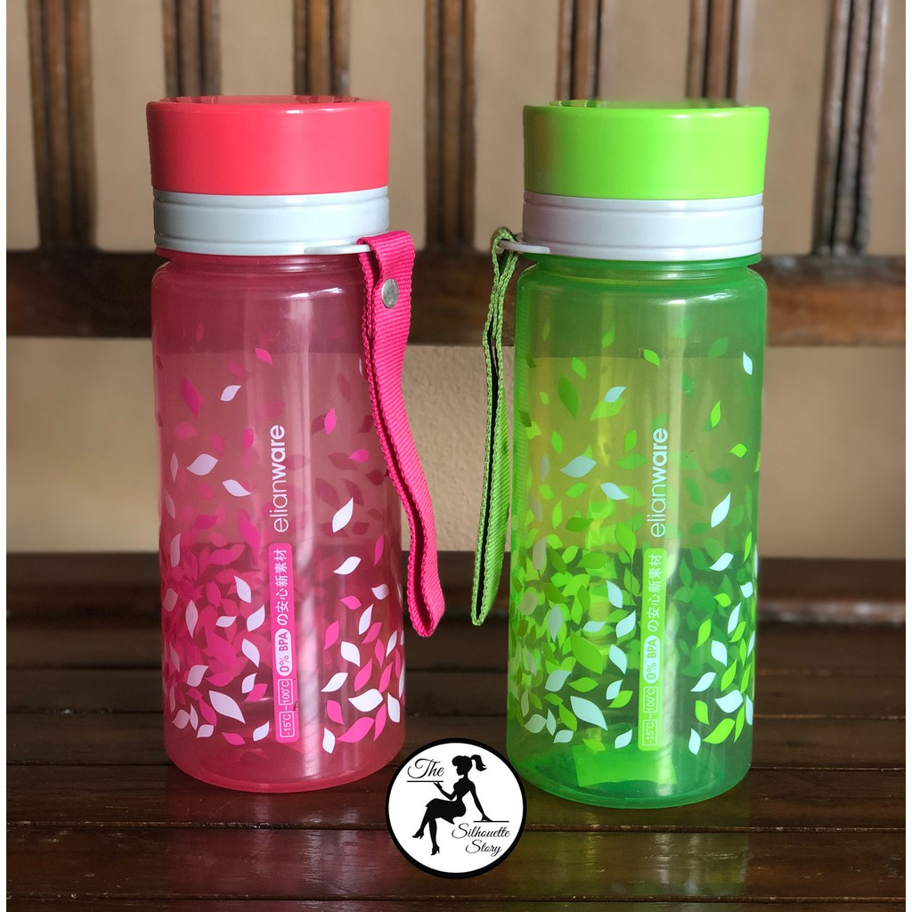 [Ready Stock] BPA Plastic Water Bottle Portable Transparent Sport Leaking-proof Travel
