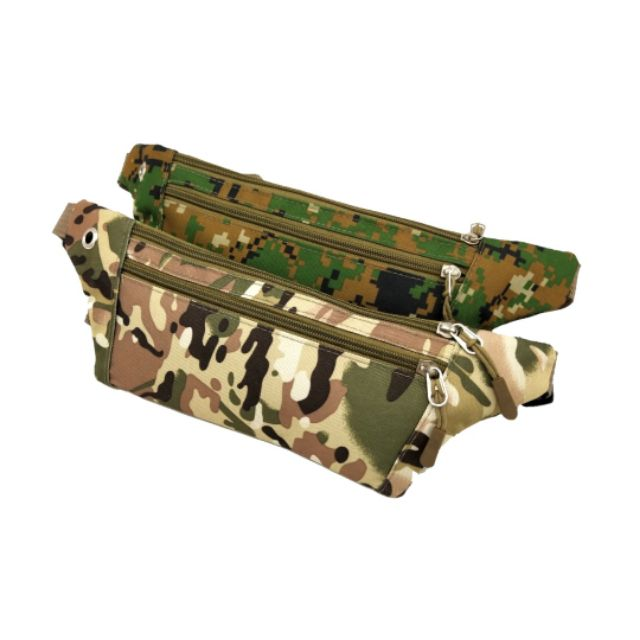Unisex Outdoor Sport Army Tactical Pouch Jogging Phone Fanny Pack Waist Bag