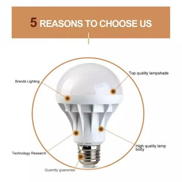 [ READY STOCK ]  ( 4pcs Free 1 Pcs ) E27 Led Light 18w White Bulb Lampu Lamp Jualan Murah Kitchen Flash  Spotlight Flood
