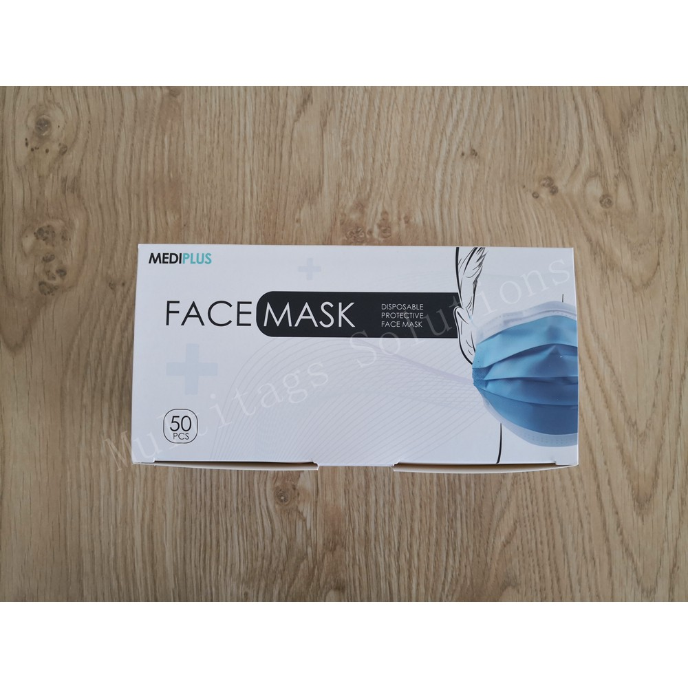 💯Ready Stock💥50Pcs/Box Adult Face Mask Earloop Disposable 3 Ply Protective Mask Premium Quanlity 三层口罩 **Ship From KL**