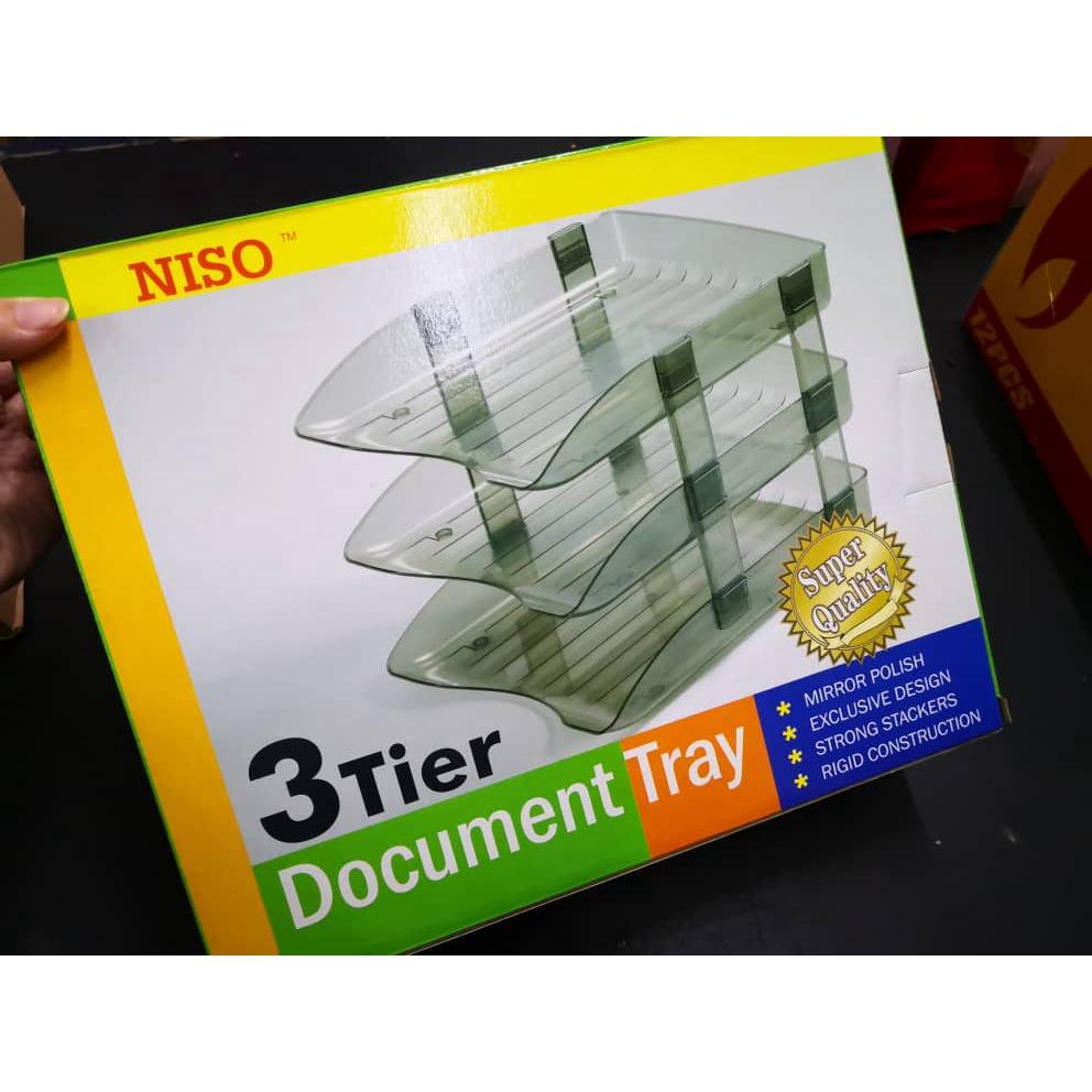 Niso 3 Tier Document Tray No.8230