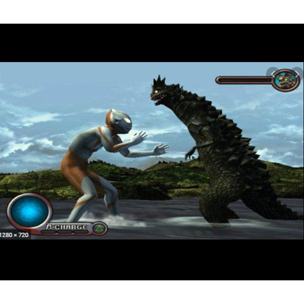 PS2 Game Ultraman, Japanese version Fighting Game / PlayStation 2 / PlayStation 3