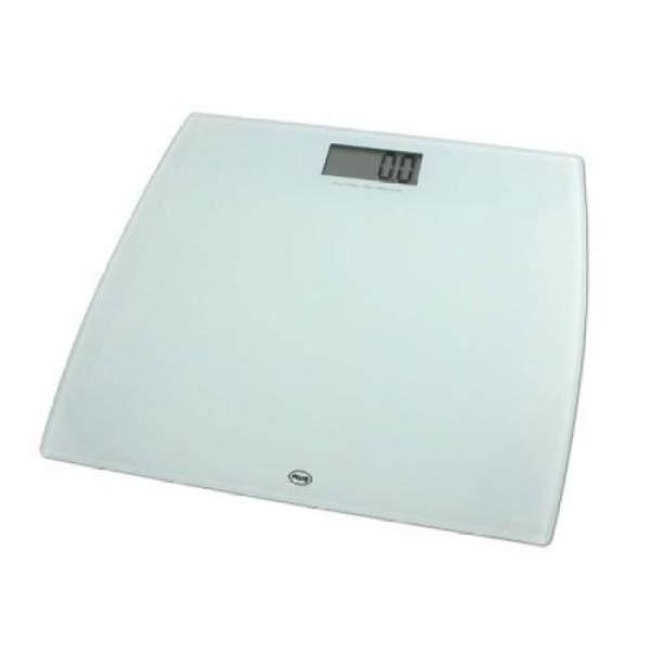 Digital Bathroom Scale 330 X 0 2 Pound American Weigh Amw-330lpw-wht