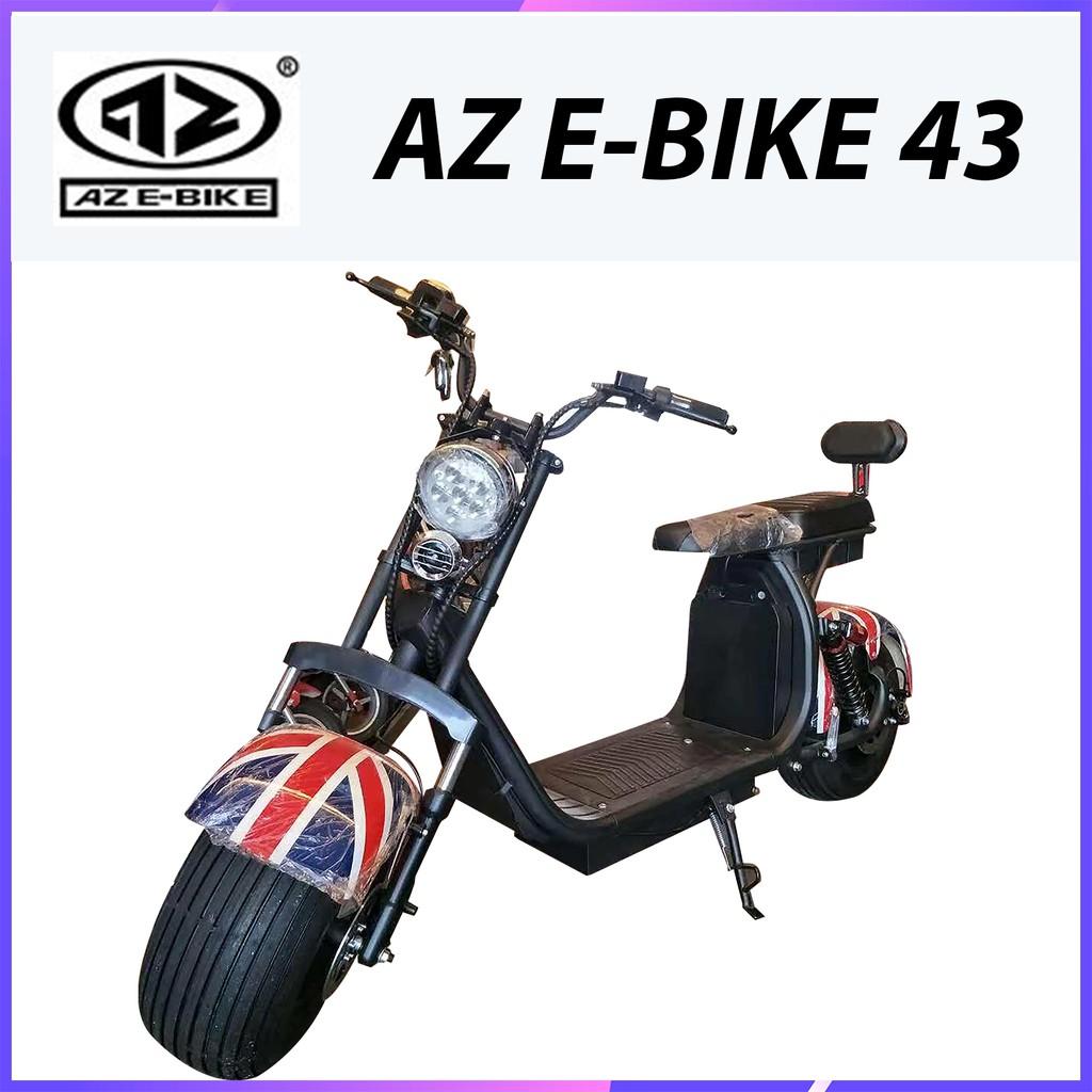 Az E Bike 43 Electric Motorcycle 1000w Shopee Malaysia
