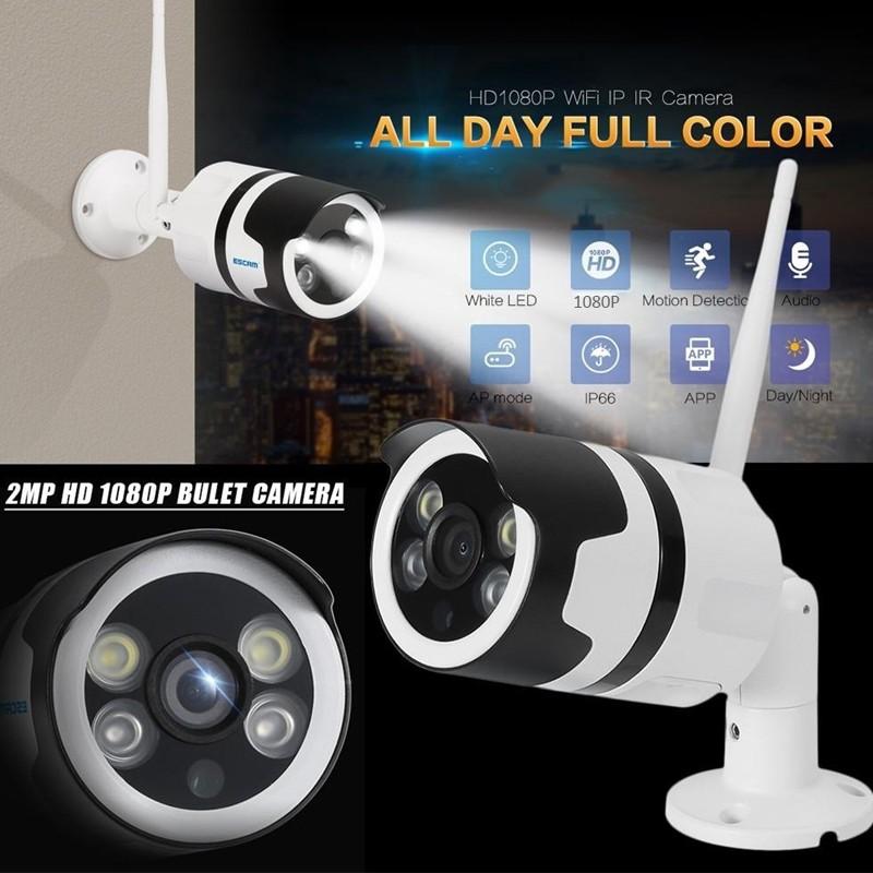 1080P IP Camera wifi Video Surveillance Outdoor Full Color CCTV camera