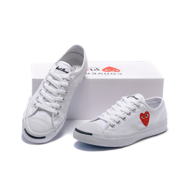 78a3db7401add6  PREORDER  COMME des GARCONS PLAY x Converse Jack Purcell