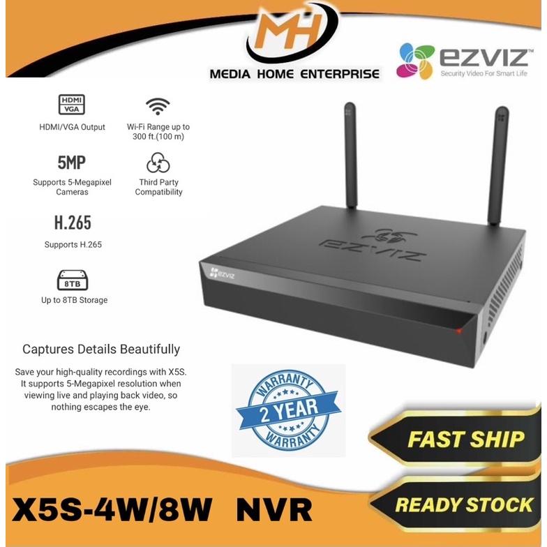 Ezviz Wireless ezNVR CS-X5S-4W/8W